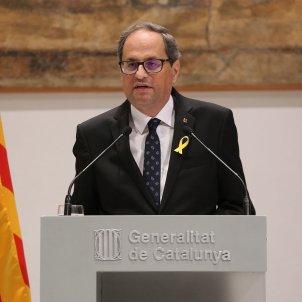 "Torra demands annulment of referendum cases after ""grave"" judicial revelations"