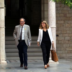 Catalan self-determination, on proposed agenda for Torra-Sánchez meeting