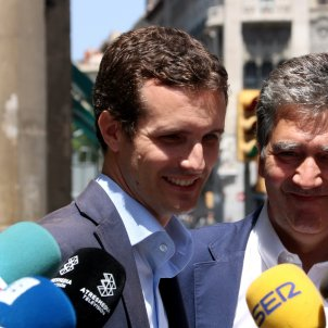 Casado suggests that pro-independence Catalans should leave the country