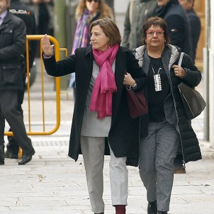 Forcadell and Bassa to continue prison leave after judge gives dissenting view