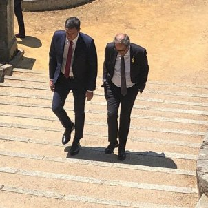 Spain and Catalonia negotiating summit between their governments for this Thursday