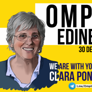 'Omplim Edinburgh': The campaign to support Ponsatí during her extradition hearing