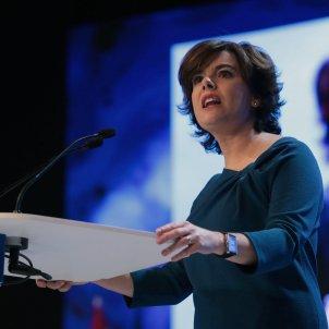 Soraya Sáenz de Santamaría, previous Spanish deputy PM, leaves politics