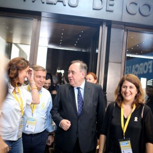 """Salmond, to Catalans: """"Your dream of freedom will never die"""""""