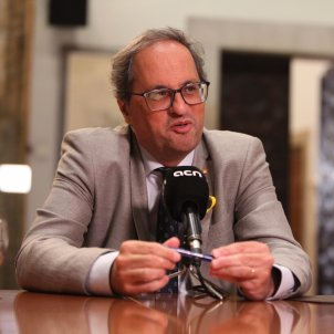 "Torra to Felipe VI: ""It's never too late to say sorry, but he's no longer king of the Catalans"""