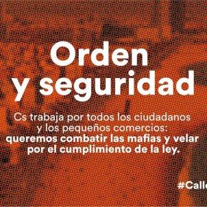 Ciudadanos' new slogan compared to dictatorships