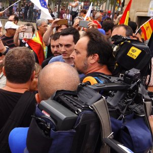 Cs' double standard: they won't file a report on the attack at their demonstration yesterday