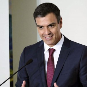 "Sánchez proposes a ""referendum on self-government, not self-determination"" for Catalonia"
