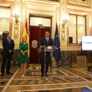 """Sánchez: """"The Spanish Constitution allows for options for new agreements to be explored"""""""