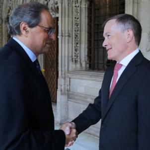 US consul meets Catalan president Quim Torra