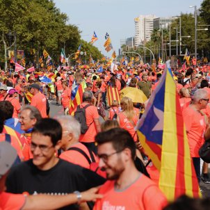 The view at street-level: Catalan independence marchers give their views