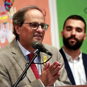 "Torra: ""The dawning of liberty on the horizon is very close for Catalonia"""