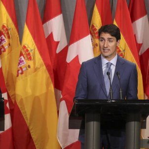 "Trudeau recommends Sánchez ""talk"" (to solve the Catalan issue)"