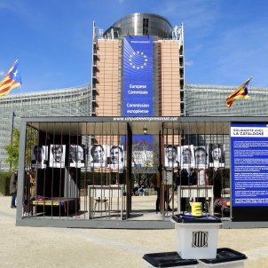 Catalan organisations denounce prisoners' situation in Brussels