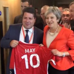 Theresa May's rock-solid message to Spain