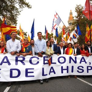 PP and Cs, side by side with far-right Vox party at Spanish nationalist rally
