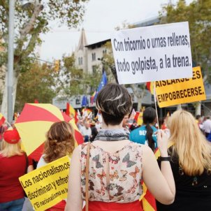 Journalists harassed and threatened by Spanish unionists at Barcelona march
