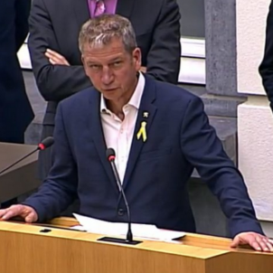 Flemish Parliament on the clash with Spain and the Catalan political prisoners