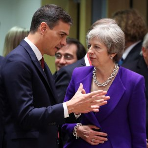 Spanish PM Sánchez supports a second Brexit referendum