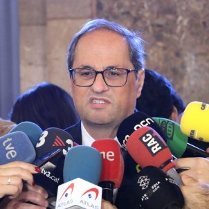 "Torra: ""Today, the trial starts of the two million Catalans who voted"""