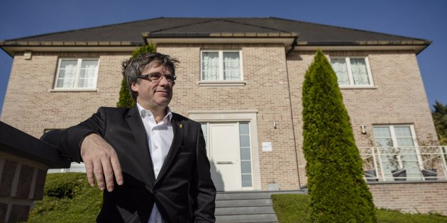 """Puigdemont: """"We want to gain independence without a war"""""""