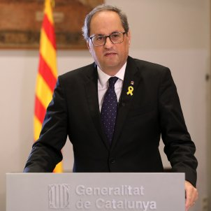 """A year after Catalan declaration, Torra warns that """"going back is not an option"""""""