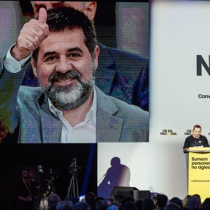 Jordi Sànchez: jailed, on trial - and backed as a candidate for Spain's Congress