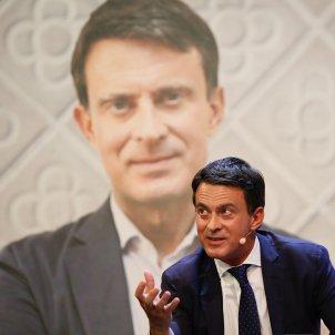 Manuel Valls loses his cool at awards dinner