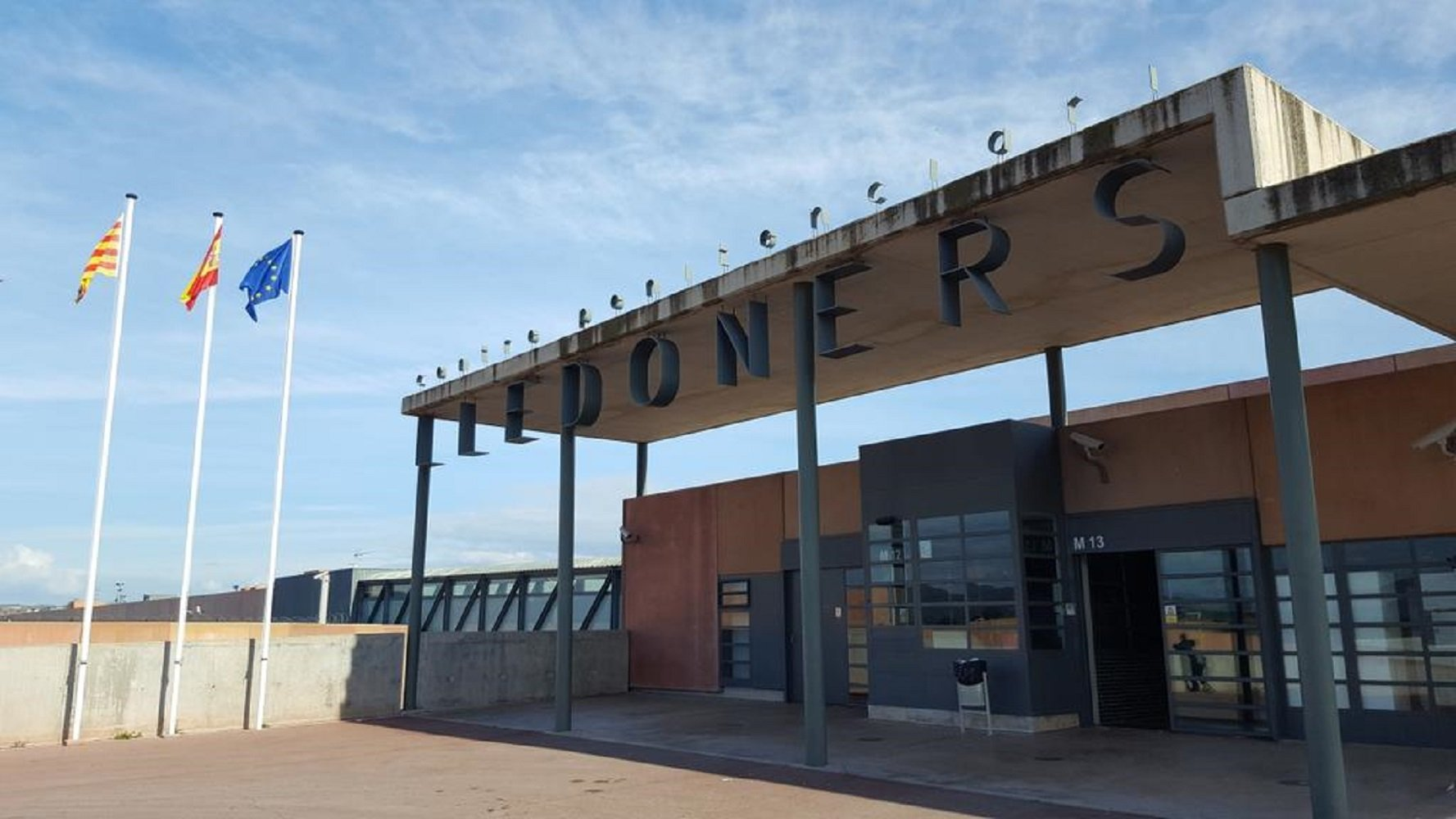 In Lledoners prison with Josep Rull