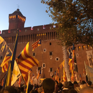 Ten thousand march for the Catalan Countries in Perpinyà