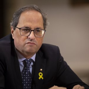 "Torra: ""We neither worry, nor cease to worry that Spain's PSOE government will fall"""