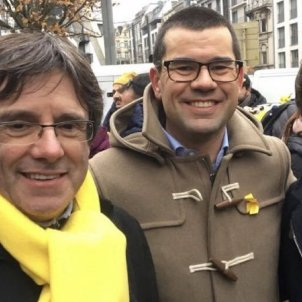 New Belgian defence minister smiles with Puigdemont, but Spain is not amused