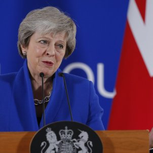 Sovereignty of Gibraltar won't change, says May, defending success of Brexit deal