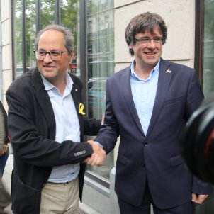 European Parliament blocks event with Puigdemont and Torra under pressure from Spain