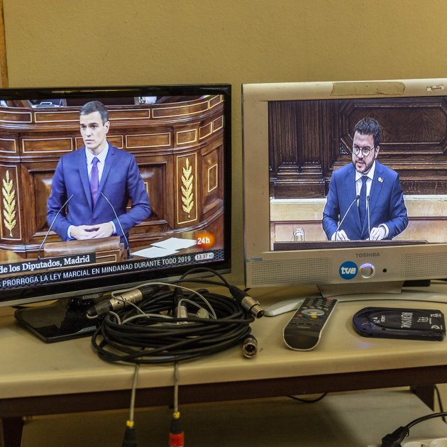 Pedro Sánchez makes a raise in the bidding on threats against Catalonia