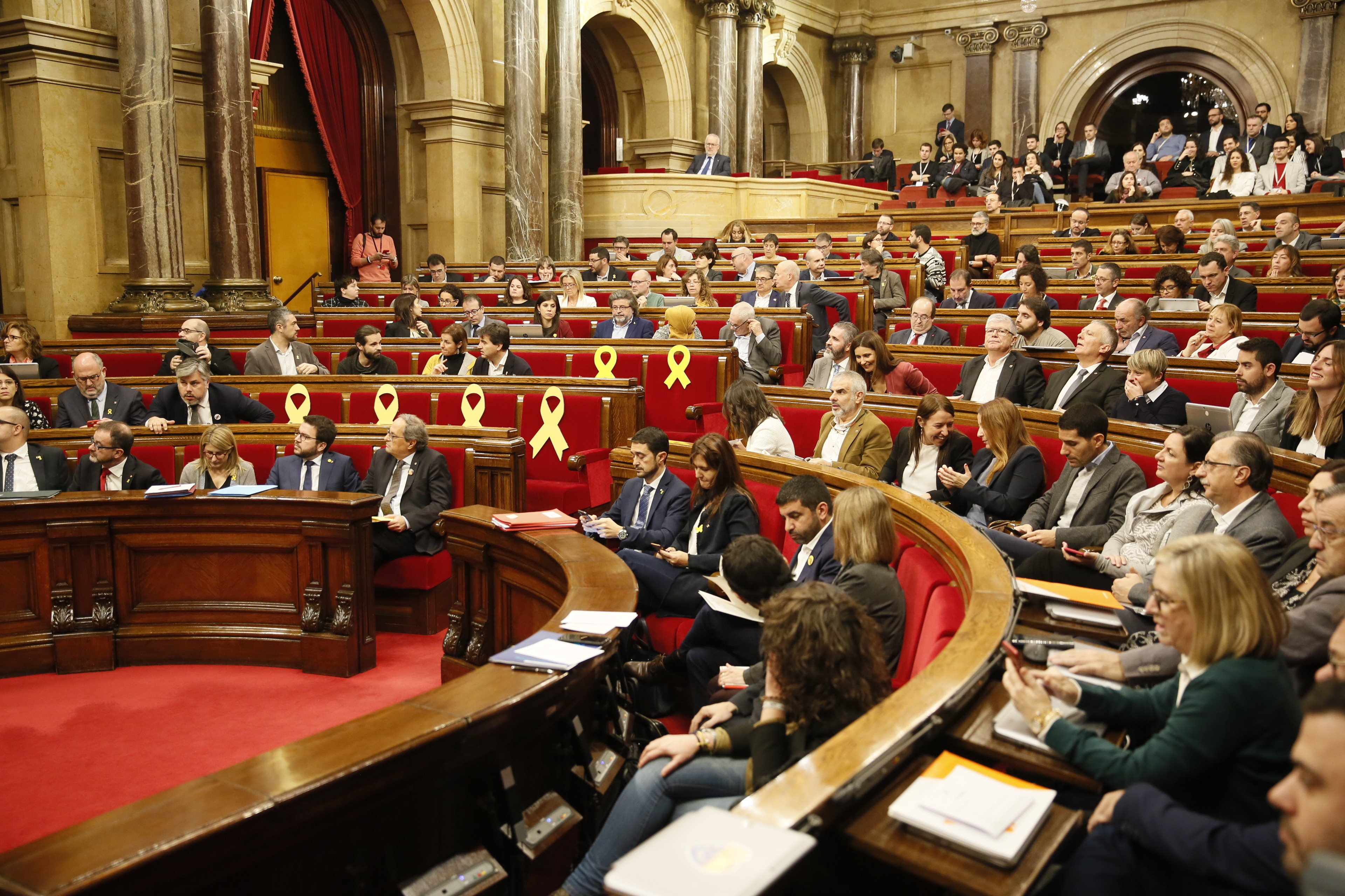 "Catalan Parliament declares the Spanish Constitution to be ""antidemocratic and antisocial"""