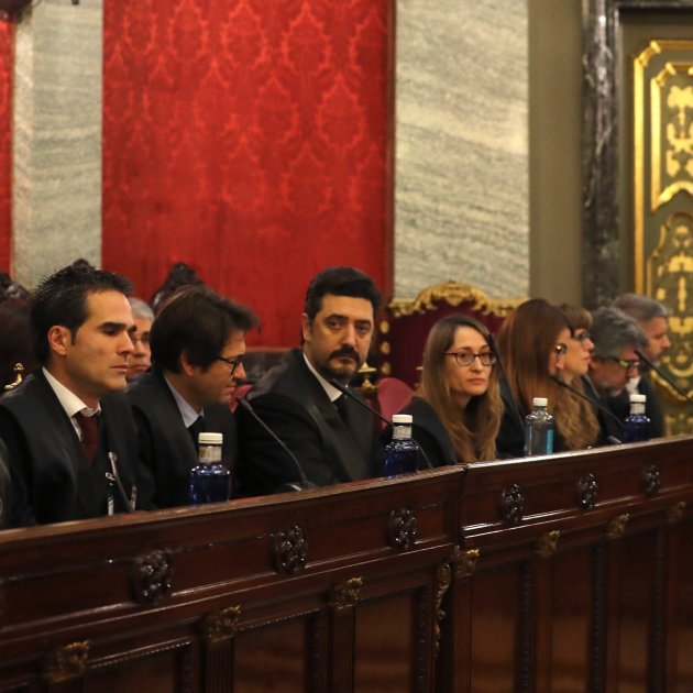 """The independence movement is on trial"" say Catalan defence lawyers"
