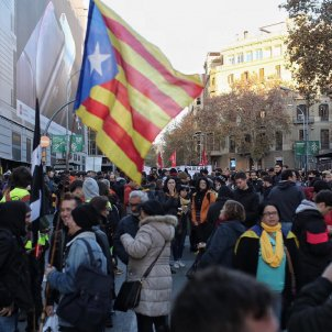 Demonstrations in Barcelona reported on from Israel to Malaysia