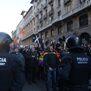 The videos of today's protests in Barcelona