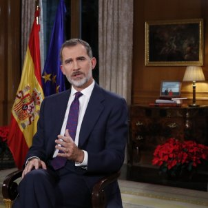 "Felipe VI digs in: Christmas warnings on social harmony and ""respecting"" the Spanish Constitution"