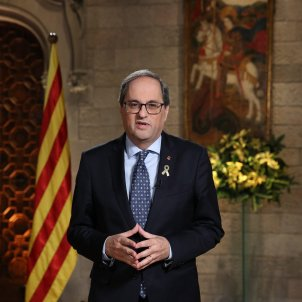 """Catalan president: """"Let's be ready for the year of our freedom, it's close"""""""