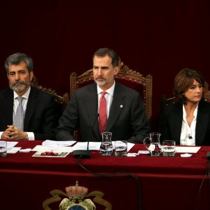 Felipe VI closes ranks with judges ahead of Catalan independence trial