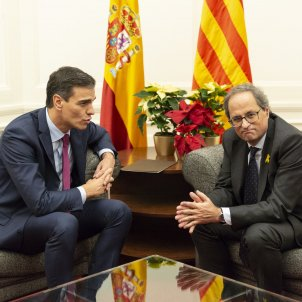 The negotiation terms Torra proposed to Sánchez