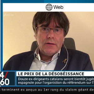 "Puigdemont to Canadian TV: ""Scots can hold a referendum but in Spain it's a crime"""