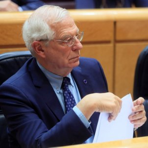 Spain's foreign minister Borrell looks to return to the European Parliament