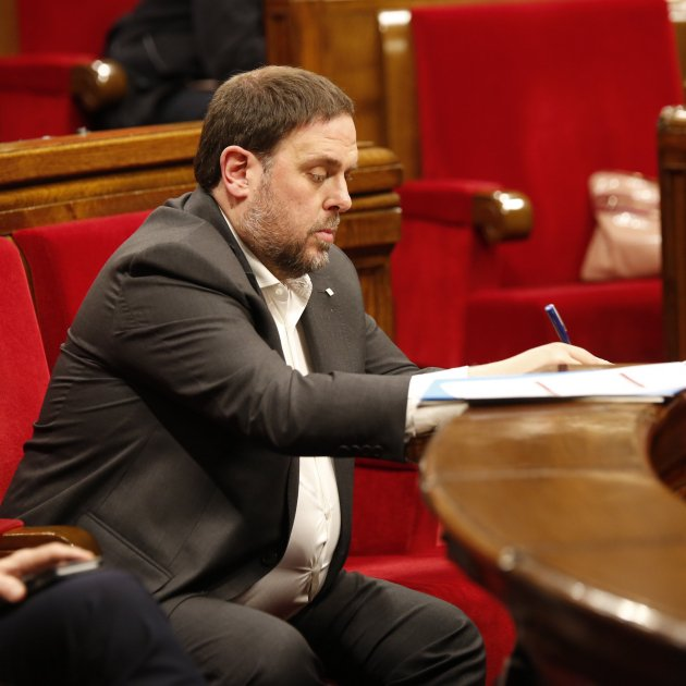"""Oriol Junqueras emphatically denies independence is a fraud: """"That's bullsh*t!"""""""