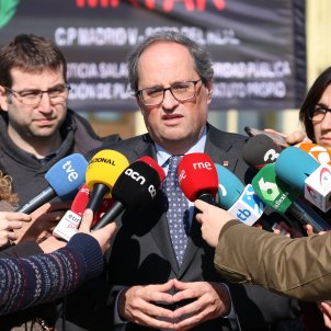"""Torra calls the trial a """"farce"""" and appeals to Sánchez to be """"courageous"""""""