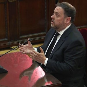 "Oriol Junqueras, no regrets in Catalan independence trial: ""We'll continue trying"""