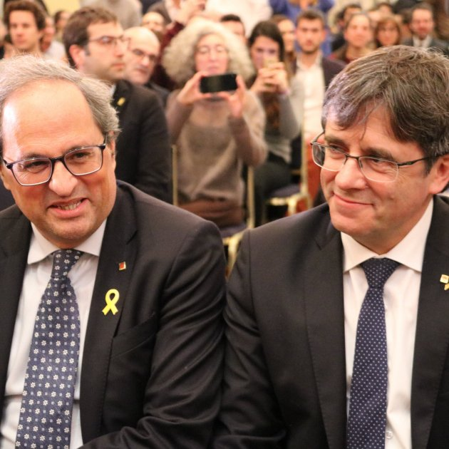 "Puigdemont and Torra to Europe: ""Tomorrow it could be you"""