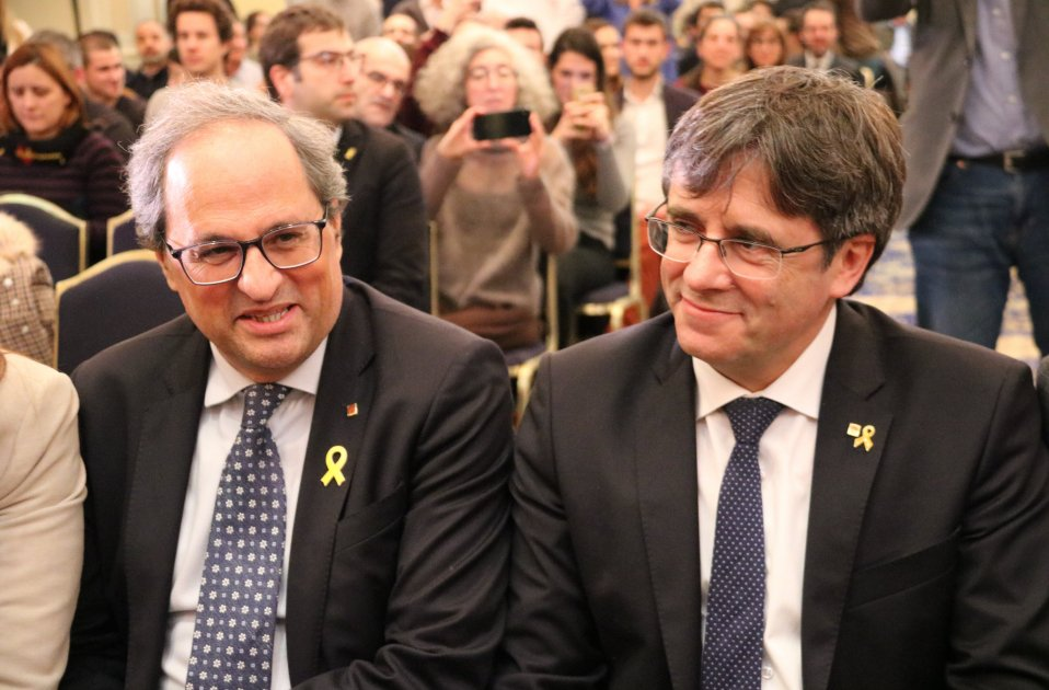 """Puigdemont and Torra to Europe: """"Tomorrow it could be you"""""""